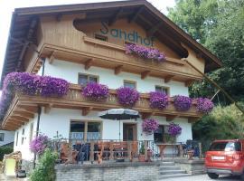 Sandhof, vacation rental in Gerlosberg