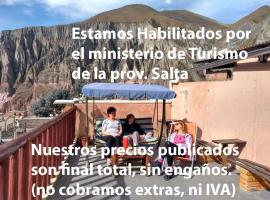 Hostal Milmahuasi, reservas directas x Facebook, Instagram o Wpp, hotel en Iruya