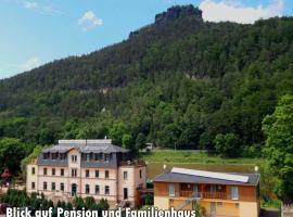 Pension Bomätscher, Hotel in Königstein (Sächsische Schweiz)