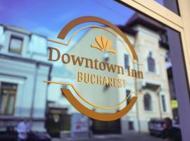 "Bucharest Downtown Inn, hotel near National Museum of Natural History ""Grigore Antipa"", Bucharest"