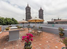 Hotel Santiago, hotel en Puebla