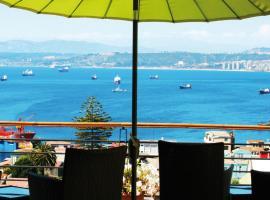 Hotel Boutique Acontraluz, hotel en Valparaíso