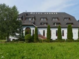 Motel Gombáš, hotel in Hubová