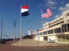 Beach Rose, 1 free parking, 2 min. from beach, jacuzzi, apartment in Noordwijk aan Zee