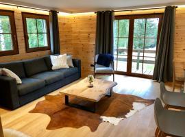 "Chalet de charme, le ""Caribou Lodge"", Eifel belge, hotel near Udenbreth Schlepplift, Bullange"