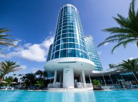 Universal's Aventura Hotel, hotel with pools in Orlando