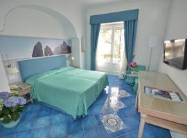 Albergo Gatto Bianco, отель в Капри