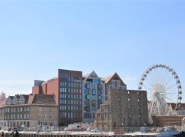 Nowe mieszkanie w Riverside w centrum Starego Miasta, accessible hotel in Gdańsk