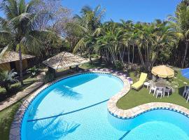 Eurosol Pousada das Canoas, guest house in Pipa