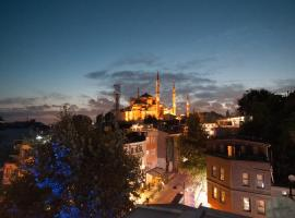 Akbiyik Suite Boutique Hotel, B&B in Istanbul