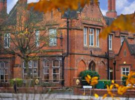 Best Western Plough & Harrow Hotel, hotel in Birmingham