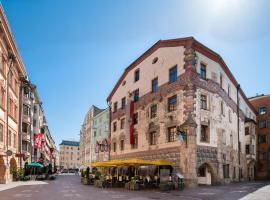BEST WESTERN Plus Hotel Goldener Adler Innsbruck, отель в Инсбруке