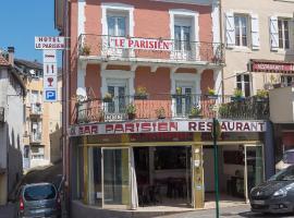 Hôtel Le Parisien, hotel in Lourdes