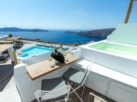 Santorini's Balcony Art Houses, хотел в Имеровигли