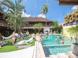 Puri Garden Hotel & Hostel, hotel a Ubud