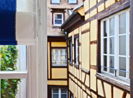 Quatre Chaises, appartement à Strasbourg