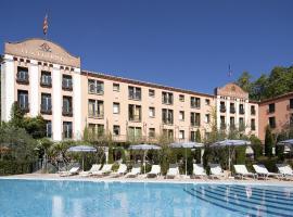 Le Grand Hôtel, hôtel à Molitg-les-Bains