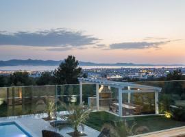 Villa Panorama - with heated pool, hotel in Zadar