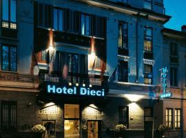 Hotel Dieci, hotel a Milano, Città Studi