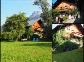 """Heli's Holiday Suites, FeWo """"Trisselwand"""", 8992 Altaussee, hotel in Altaussee"""