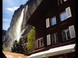 Hotel Hornerpub, hotel in Lauterbrunnen