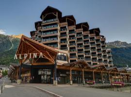 Alpina Eclectic Hotel, отель в Шамони-Монблан