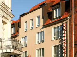 Altstadt Hotel zur Post Stralsund, viešbutis mieste Štralzundas