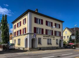 Hotel Gotthard, отель в городе Бругг