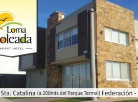 Loma Soleada Apart Hotel, serviced apartment in Federación