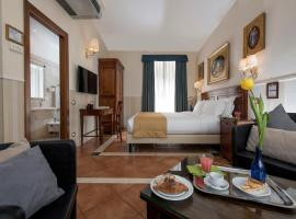 Hotel Des Artistes, hotel in Central Station, Rome