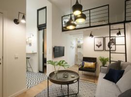 Moderno y reformado apartamento al lado del Museo, hotel cerca de Estación de tren de Atocha, Madrid