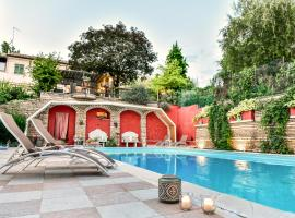 Villa Nicoletta Isidoro, hotel con jacuzzi a Verona