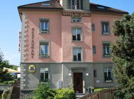 Hotel des Alpes, Hotel in der Nähe von: Forum Fribourg, Düdingen