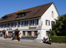 Hotel Restaurant Kreuz, Hotel in Kaiserstuhl
