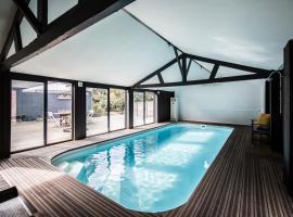 La Villa, hotel in Mesnil-Val-Plage