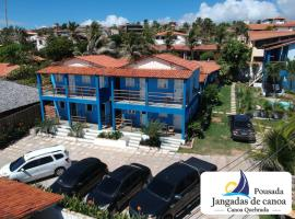 Pousada Jangadas de Canoa, hotel with pools in Canoa Quebrada