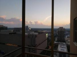 Blue Penthouse in the City, serviced apartment in Atlanta