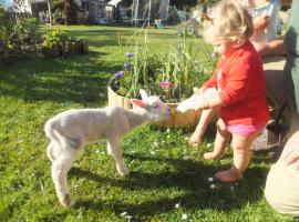 Little Paradise & Petting Farm, B&B in Greymouth