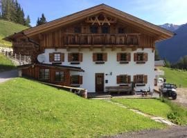 Berghütte Schöpf, lodge in Umhausen