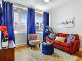 #906 Chic Downtown Condo, Super Comfy Bed, Sleeps4, apartment in New Orleans