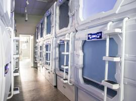 The Atlas Station, capsule hotel in Singapore