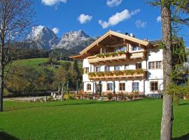 Landhaus zum Steinbock, hotel in Maria Alm am Steinernen Meer