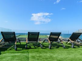 Aetheras Beach, hotel near Agios Dimitrios Church, Platanias