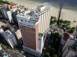 ibis Santos Gonzaga Praia, hotel em Santos
