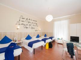 Des Artistes Budget Rooms, hostel in Rome