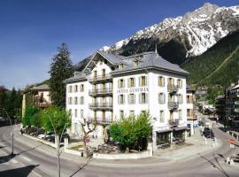 Langley Hotel Gustavia, hotell i Chamonix-Mont-Blanc