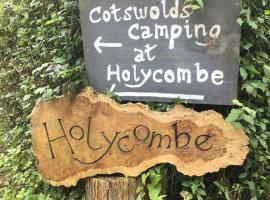 Cotswolds Camping at Holycombe, luxury tent in Shipston-on-Stour