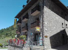 Hotel Las Nieves, hotel in Linás de Broto