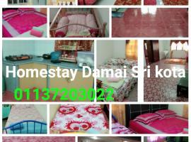 Homestay Damai Sri Kota, family hotel in Kepala Batas
