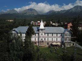 Hotel Palace Tivoli, hotel near Jakubkova Luka 2, Vysoké Tatry